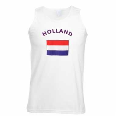 Holland vlaggen tanktop/ t-shirt