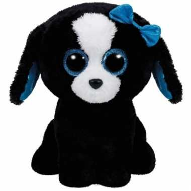 Hond/puppy knuffels tracey ty beanie 24 cm