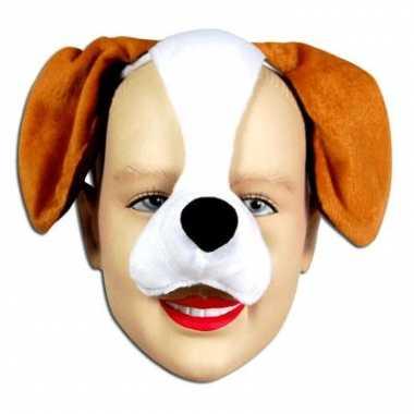 Honden maskers met honden geluid