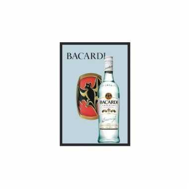 Horeca wandspiegel bacardi