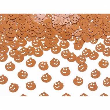 Horror halloween confetti pompoenen 15 gram