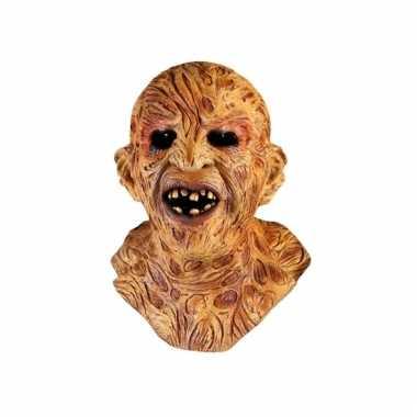 Horror masker met littekens