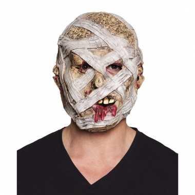 Horror mummie maskers van latex
