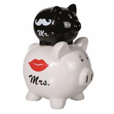 Huwelijk spaarpot mr en mrs