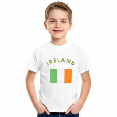 Ierse vlaggen t-shirts voor kinderen