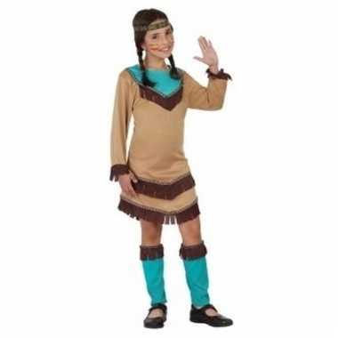 Indiaan chinouk verkleed kostuum voor meisjes