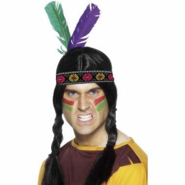 Indianen hoofd veren