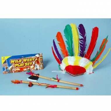 Indianen speelgoed set