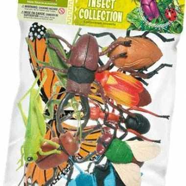 Insecten plastic groot