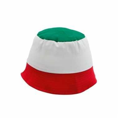 Italiaanse supporters hoedje