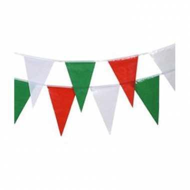 Italiaanse vlaggenlijnen 4 meter