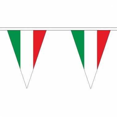 Italie versiering vlaggenlijn 5 m