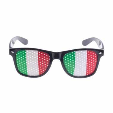 Italie vlag zonnebril