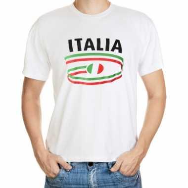 Italie vlaggen t-shirts voor heren