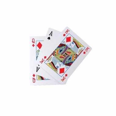Kaartspel extra groot a4