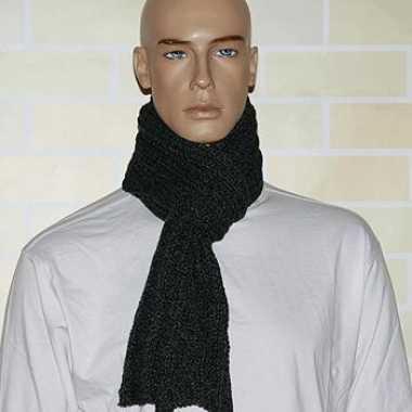 Kabel sjaal gebreid