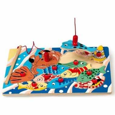 Kado voor kinderen houten vis puzzel