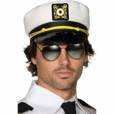 Kapiteins wit voor volwassenen