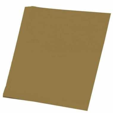 Karton goud 48x68 cm