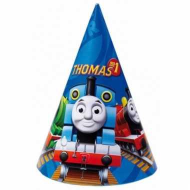 Kartonnen hoedjes thomas de trein