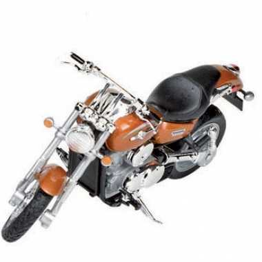 Kawasaki vulcan speelgoed oranje motor