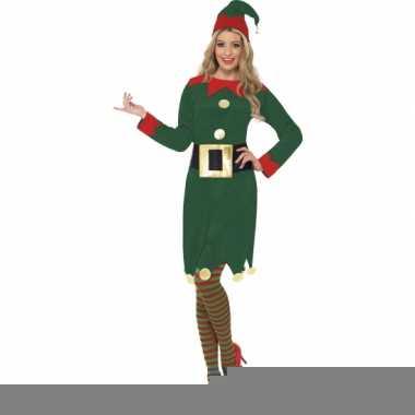 Kerst elfen jurkje voor dames