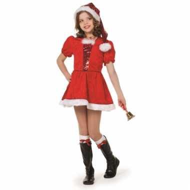 Kerst meisjes kostuum deluxe