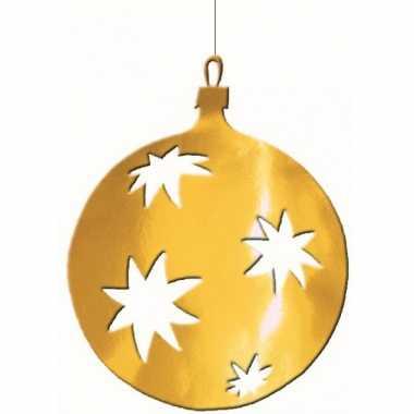 Kerstballen hangdecoratie 30 cm