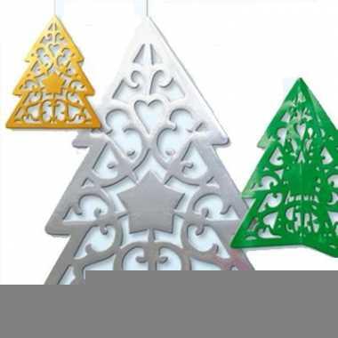 Kerstbomen hangdecoratie 50 cm