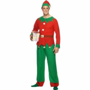 Kerstelf kleding voor volwassenen