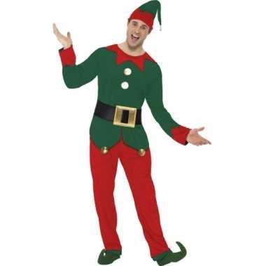 Kerstelf outfit voor heren
