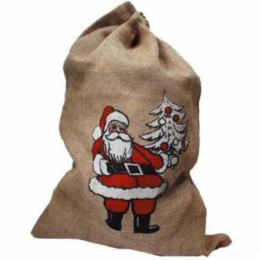 Kerstkado zak voor de kerstman