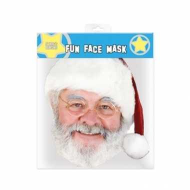 Kerstmannen masker
