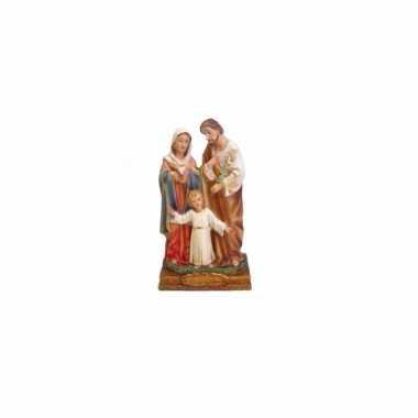 Kerstmis beeldje van jezus / maria en jozef 15 cm