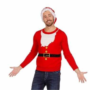 Kerstmis trui kerstman voor mannen