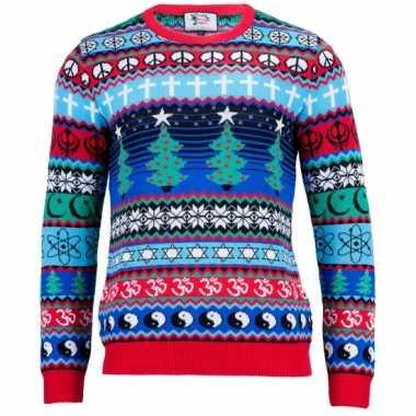 Kerstmis trui multicultural voor mannen