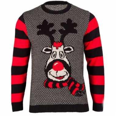 Kerstmis trui rudy reindeer voor vrouwen