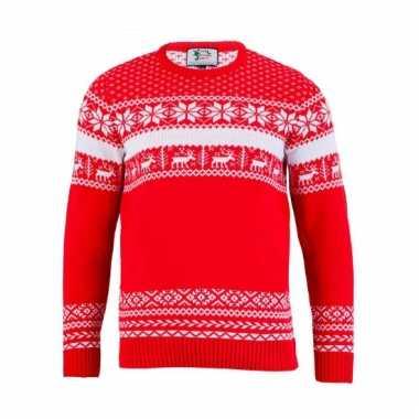 Kerstmis trui the red nordic voor mannen