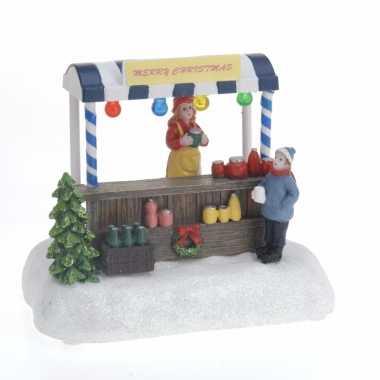 Kersttafel led licht winkel