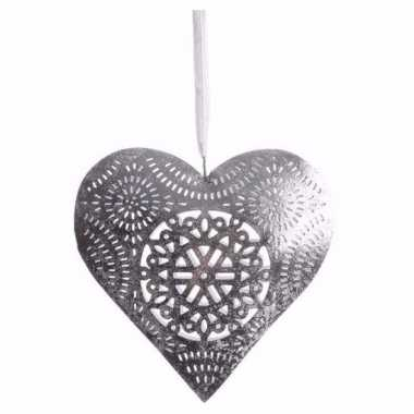Kerstversiering hanger hartje klein type 1