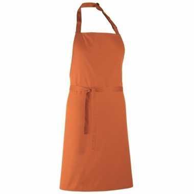 Keukenschort zonder zakken