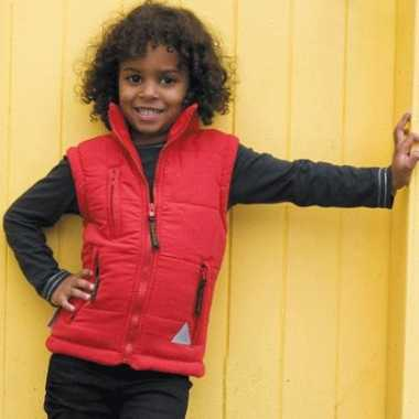 Kids bodywarmer waterproof