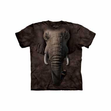 Kids dieren shirts olifant