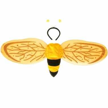 Kinder bijen vleugels met tiara