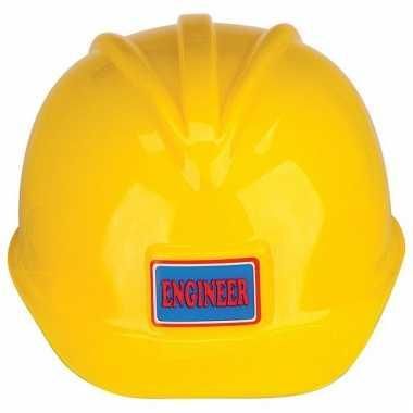 Kinder bouwhelm geel