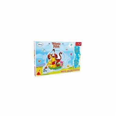 Kinder wandpuzzel van winnie de pooh