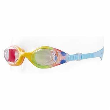 Kinder zwembrillen met blauwe band