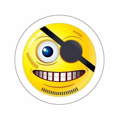 Kinderkamer stickers smiley type 8