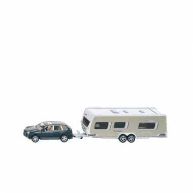 Kinderspeelgoed auto met caravan