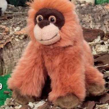 Kleine pluche orang oetan 13 cm